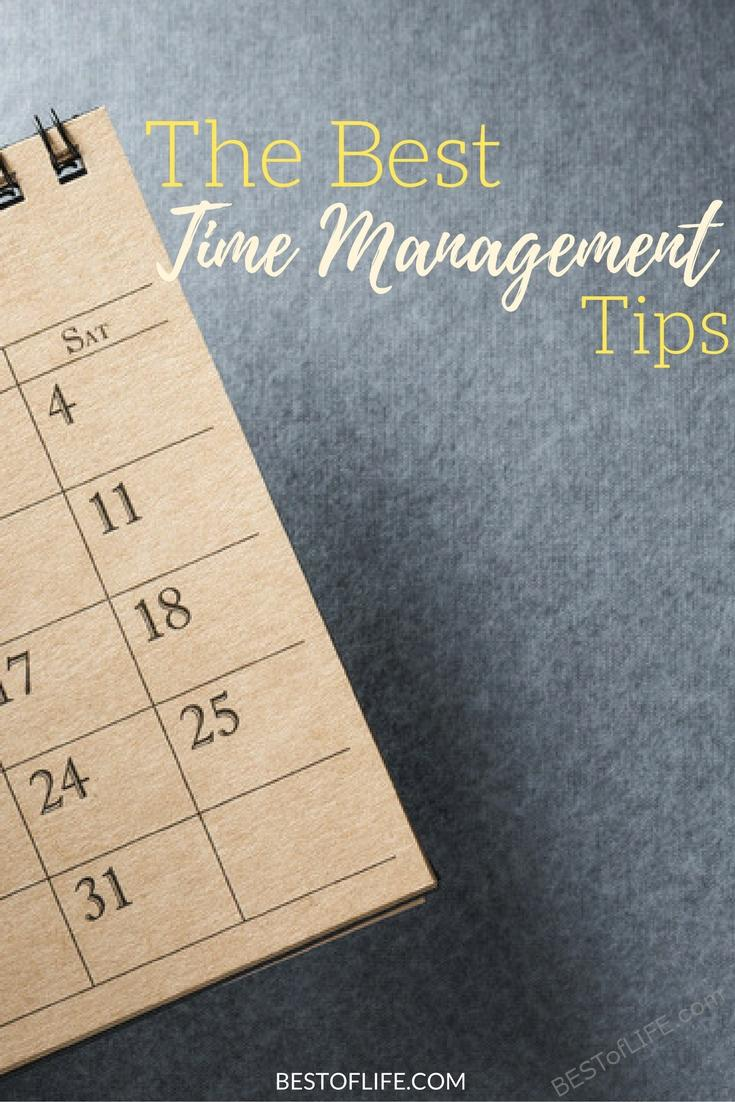 The best time management tips will help keep you on track, focused, and functioning at the best of your abilities! Use these tips to be successful.