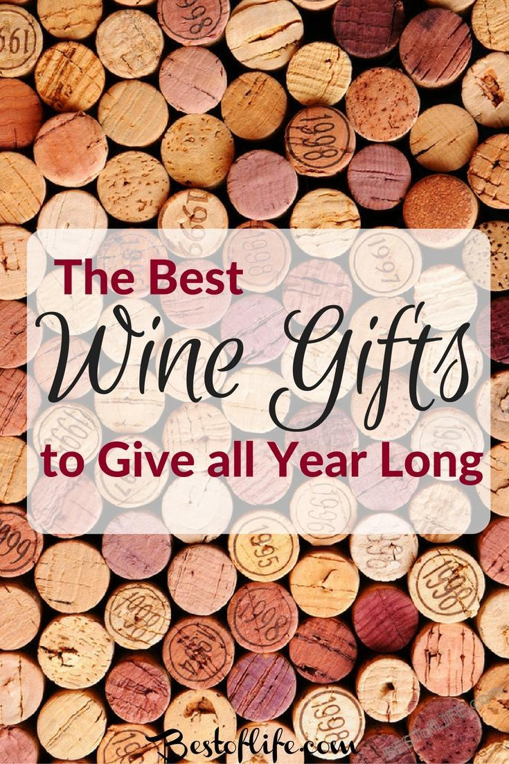 The best wine gifts are perfect for any occasion! These are perfect 'anytime' gifts to give the wine lover in your life or use to make a DIY Wine Basket. Gifts for Him | Gifts for Friends | Hostess Gifts | Party Gifts | Gifts for Wine Lovers | Wine Gift Ideas | Wine Gift Basket | Wine Gift Basket DIY | Best Wine Gifts