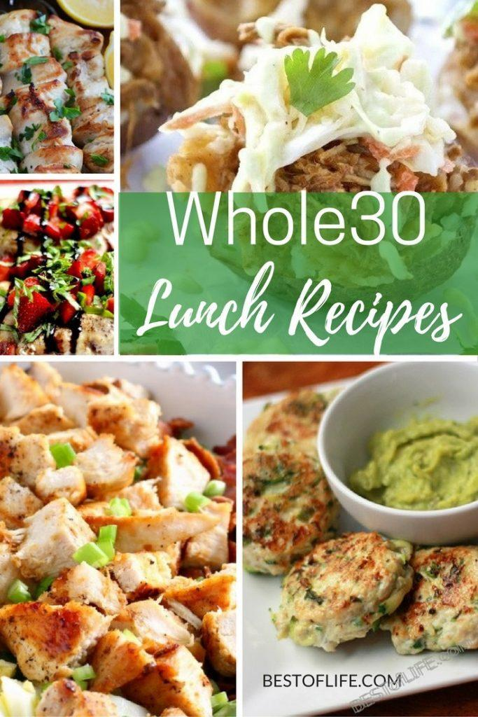 Whole30 lunch recipes help me not only stay in compliance with an allergy but also helps me get and stay fit and healthy.