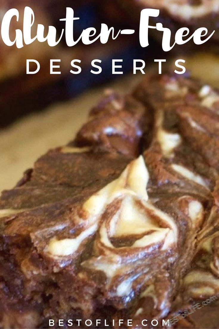 Try some of the easiest gluten free desserts to stay healthy and fight that sweet tooth all while keeping in line with your dietary restrictions. Gluten Free Recipes | Best Gluten Free Recipes | Easy Gluten Free Recipes | Gluten Free Dessert Recipes | Easy Gluten Free Desserts | Best Gluten Free Desserts