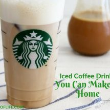 Starbucks iced coffee drinks to make at home help save your wallet from despair and keep your taste buds just as happy at the same time. How to Make a Starbucks Drink | Starbucks Copycat Recipe | Starbucks Iced Coffee Recipe | Starbucks Recipe | Easy Starbucks Recipe | Best Starbucks Recipe