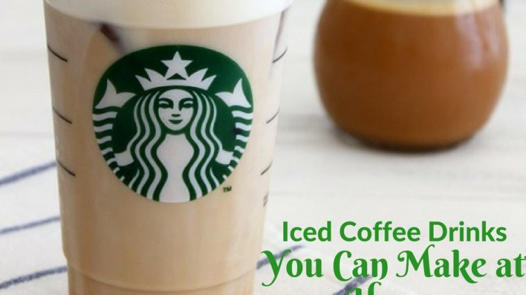 Starbucks iced coffee drinks to make at home help save your wallet from despair and keep your taste buds just as happy at the same time.