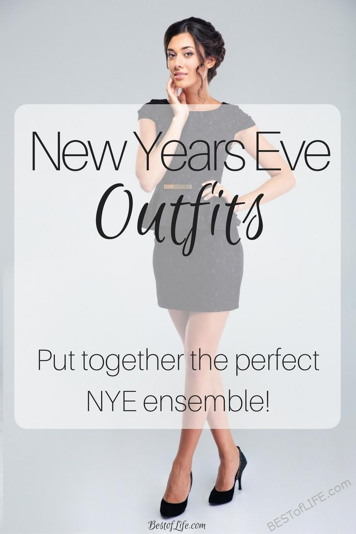 We all want to look our best. These New Years Eve outfits will have you dazzling in 2017 in style! Ideas for everyone, party the night away looking great.