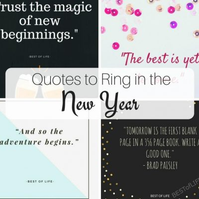 Best Quotes to Ring in the New Year