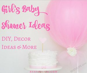 Baby shower ideas for girls will help you throw a memorable shower for mom to look back on for years to come! Best Baby Shower Ideas | Easy Baby Shower Ideas | Baby Shower Ideas for Girls | Best Baby Shower Ideas for Girls #babyshower #babyshowers #babyshowerideas #babygirl #partyideas