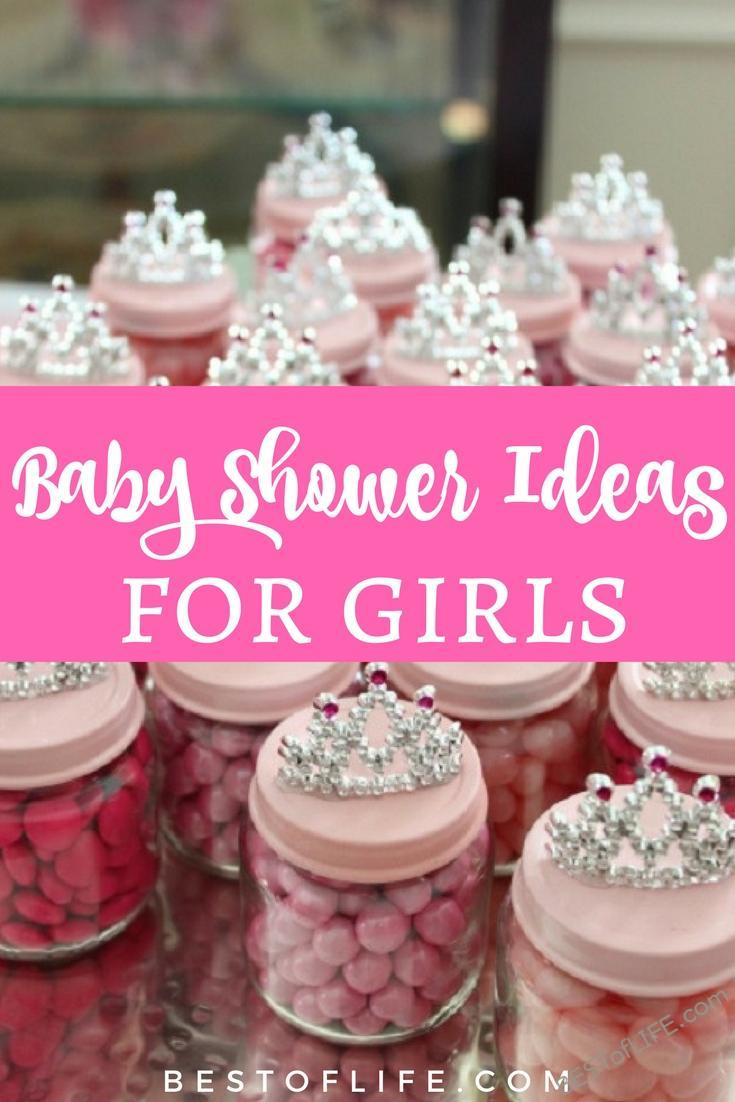 Baby Shower Ideas Girl Pinterest