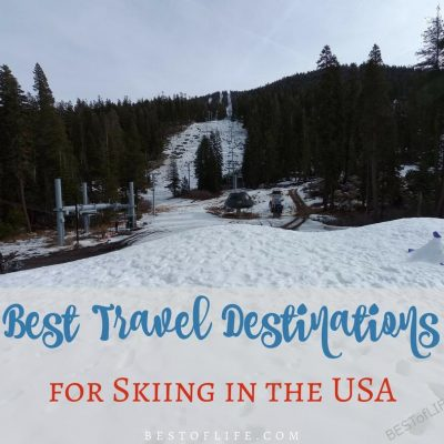 Best Travel Destinations for Skiing in the USA