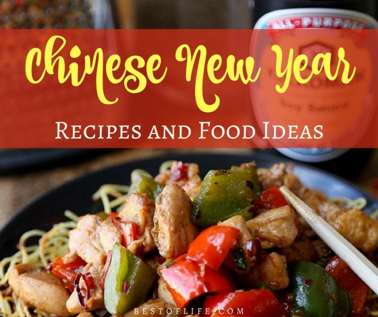 Celebrate Chinese New Year with some great tasting foods that all have different meanings in the year to come and experience something new.
