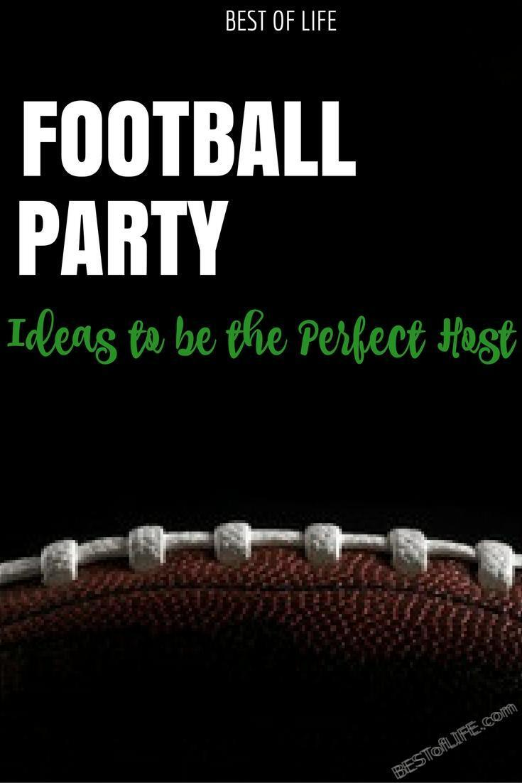 The best football party ideas can be used for any given Sunday as well as a Super Bowl party or just a themed birthday party.