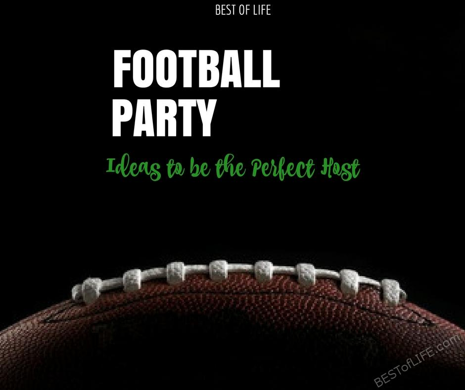 The best football party ideas can be used for any given Sunday, as well as a Super Bowl party or themed birthday party. Football Party Ideas | Game Day Ideas | Party Ideas | Best Game Day Ideas | Easy Game Day Ideas | Best Football Party Ideas | Easy Football Party Ideas | DIY Party Ideas | DIY Football Party Ideas