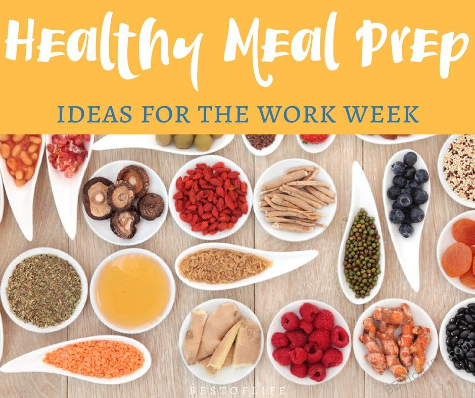 healthy meal prep ideas for work that are actually good the best