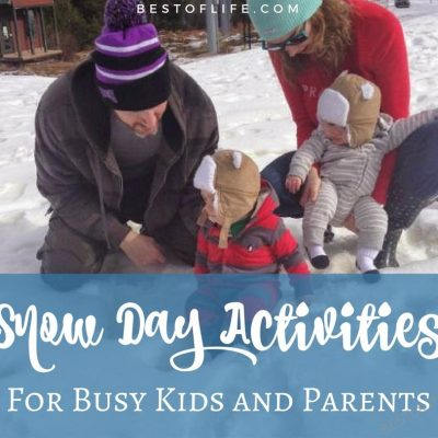 Snow Day Activities to Keep Kids Entertained