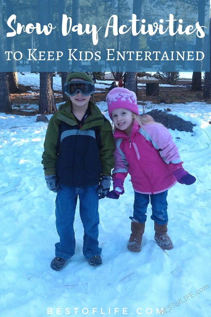 Finding the best snow day activities will help you keep your children safe while having fun. Snow Day Activities | Snow Day Activities for Kids | Snow Day Ideas | Activities for Kids | At Home Activities for Kids  via @thebestoflife