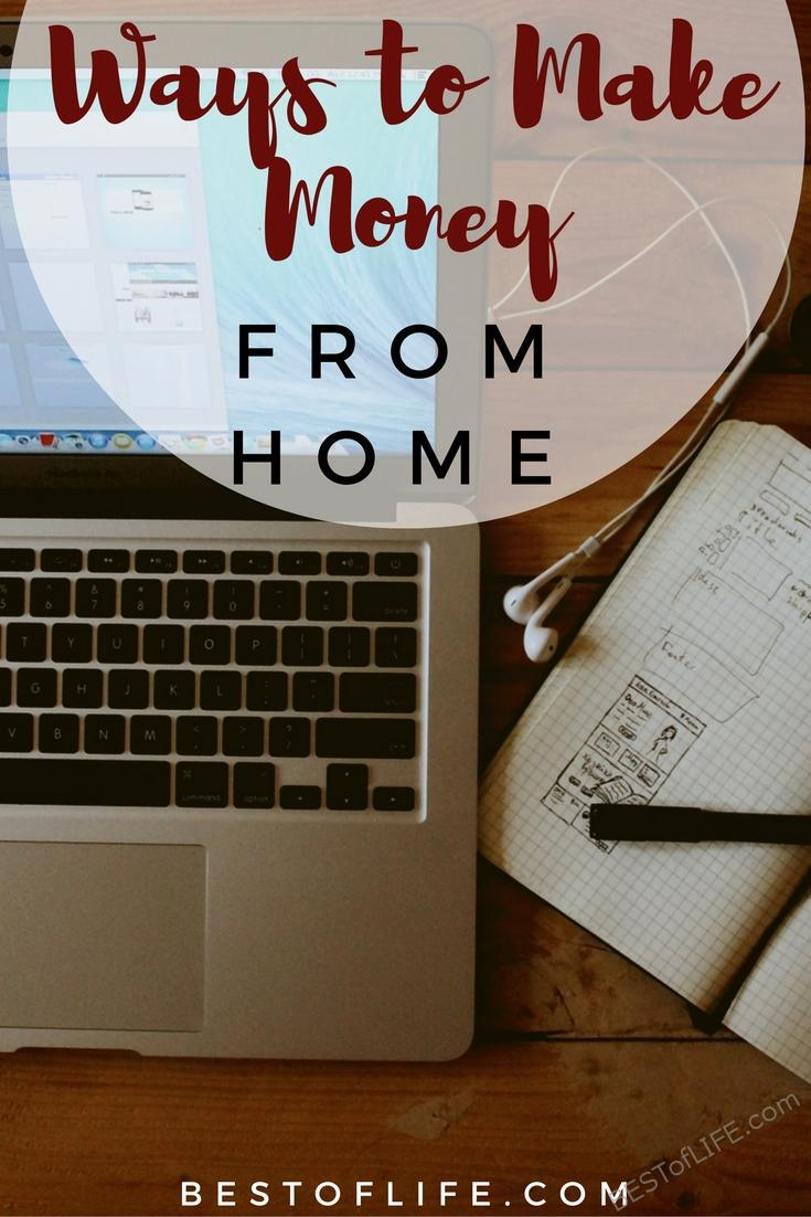 Best Way To Make Money From Home