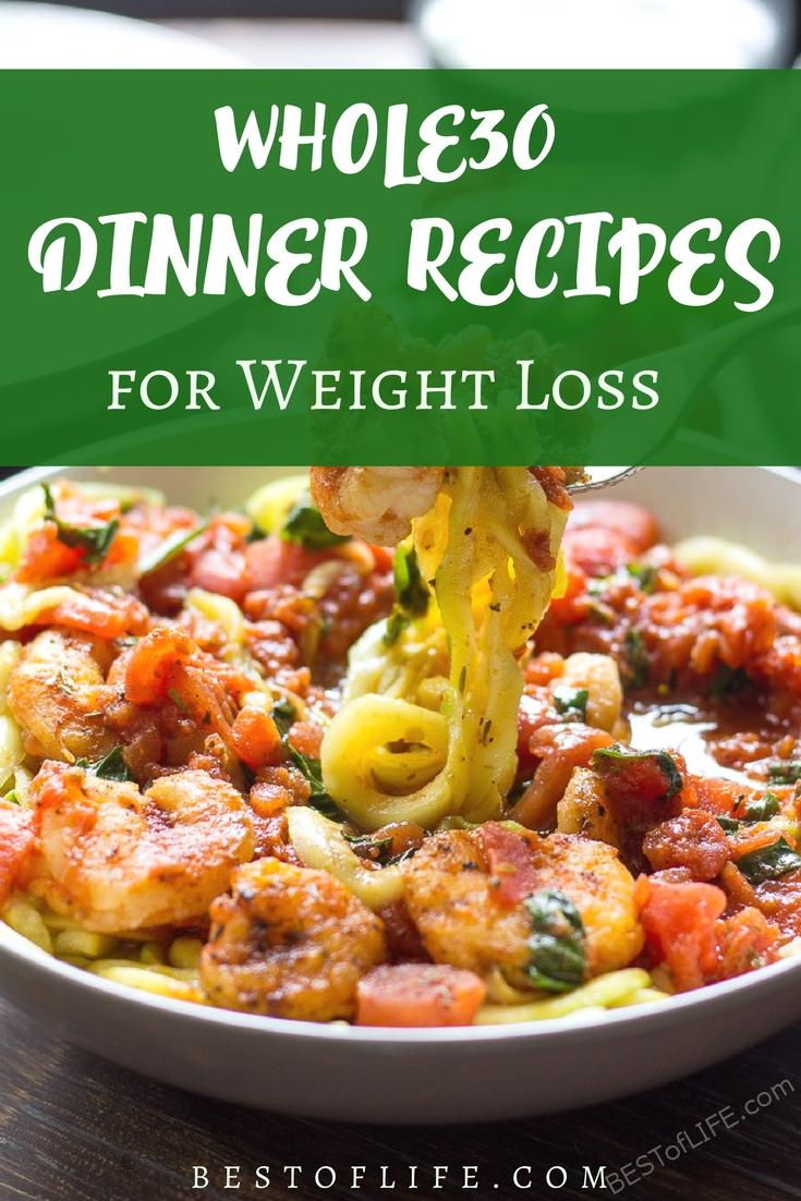 Whole30 dinner recipes will help you press the reset button on your eating habits and maintain a healthy lifestyle.
