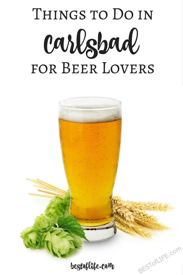 The list of things to do in Carlsbad in 2017 is really starting to stack up! The craft beer influence from San Diego County is rubbing off on Carlsbad. Fun Things to do in Carlsbad | Carlsbad Travel Tips | Travel Tips | Carlsbad Tips | Events in Carlsbad | Carlsbad Events | Things to do in Southern California via @thebestoflife