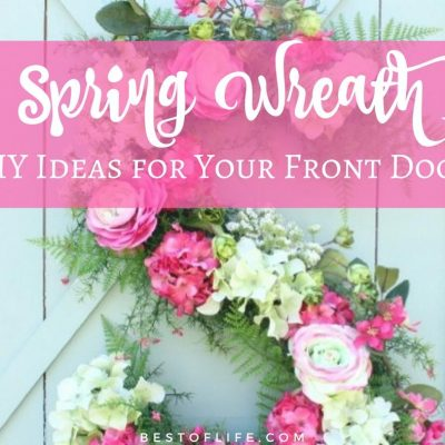 Spring Wreath Ideas for Your Front Door | DIY Wreath Ideas