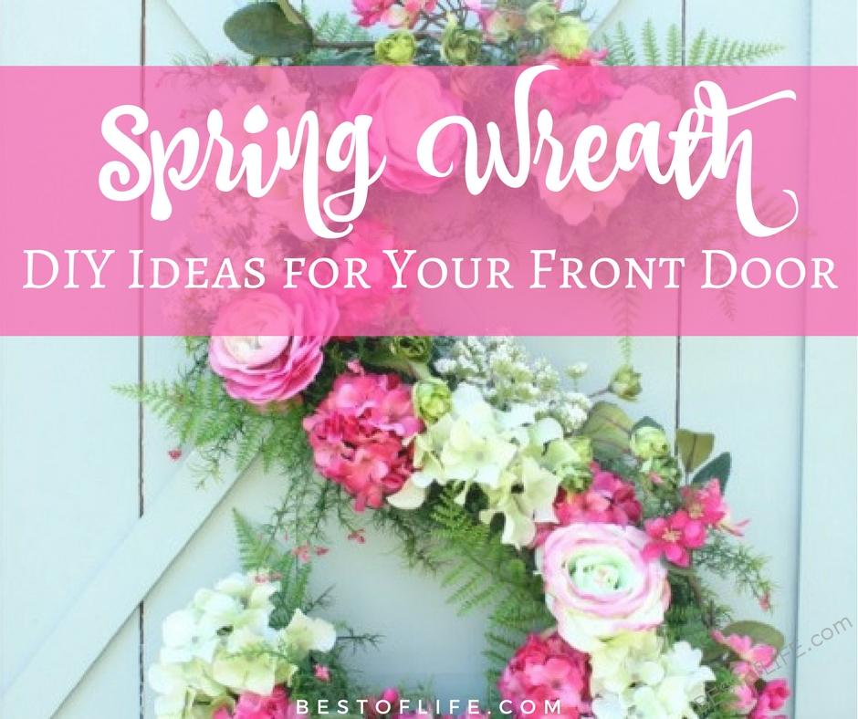 DIY spring wreath ideas help bring a little taste of the season to your front porch in the best and easiest way possible. DIY Spring Decor | DIY Home Decor | Easy DIY Decor | Best DIY Home Decor Ideas | Spring Decor Ideas | Best Spring Decor Ideas | Easy Spring Decor Ideas