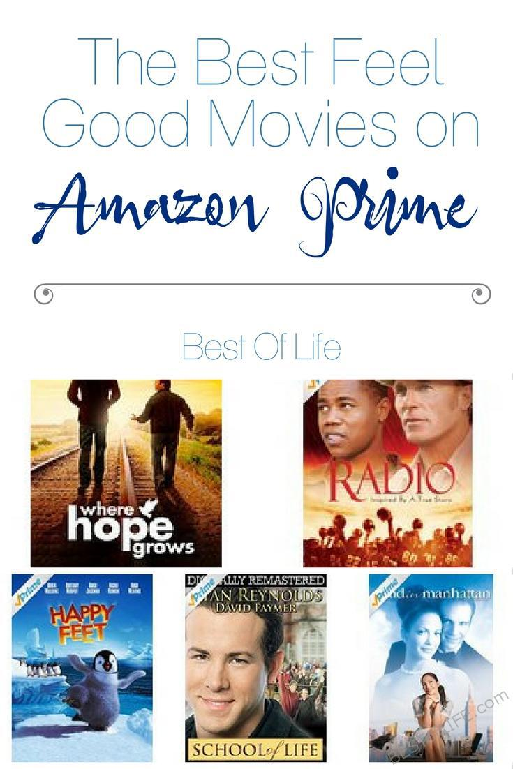 Sure, Netflix is great, but there are also a lot of the best feel good movies on Amazon Prime that you can enjoy alone or with friends and loved ones. Best Movies on Amazon Prime | Best Movies to Stream | Best Feel Good Movies to Strem | Best Feel Good Movies via @thebestoflife