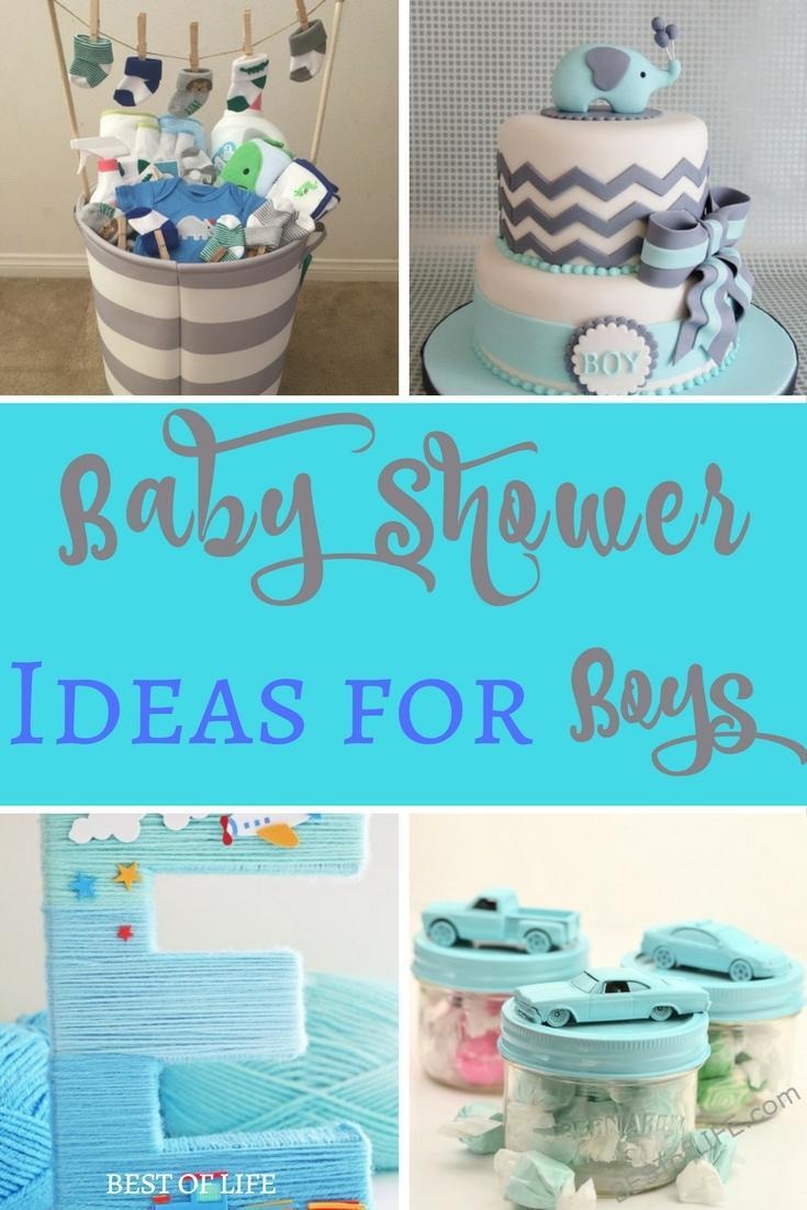 Baby Shower Ideas For Boys Themes Diy Food And Budget
