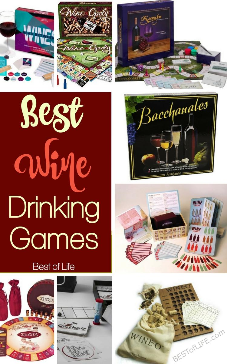 Wine drinking games can turn a boring wine tasting party into a party you actually want to attend and you may learn a thing or two.