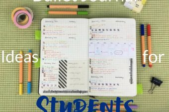 The best bullet journal ideas for students will help you get organized, focus on learning, and pass that class with less stress. Bullet Journal Ideas | Best Bullet journal Ideas for Students | Bullet Journaling for Students #bulletjournal #BuJo #weeklyspread #organization #bulletjournaldailylog #journaling