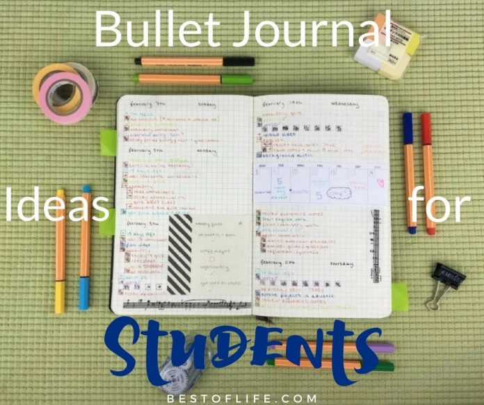The best and easiest bullet journal ideas for students will help you get organized, focus on learning, and pass that class your way. Bullet Journal Tips | College Hacks | School Hacks for Kids | Bullet Journal Setup