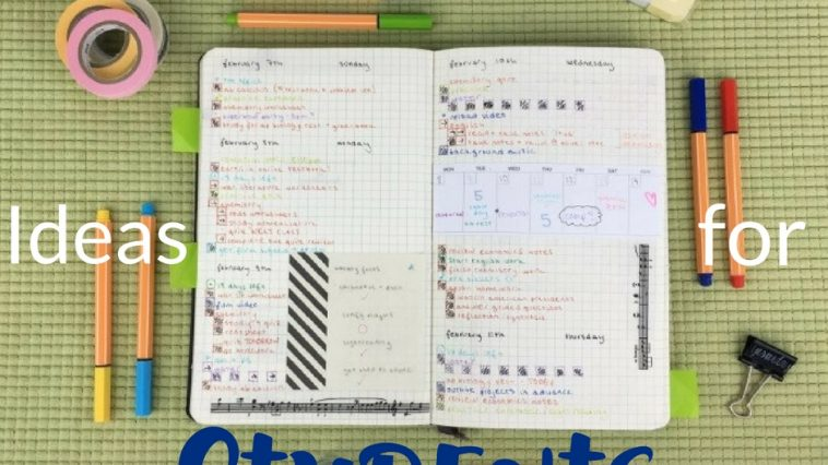 The best and easiest bullet journal ideas for students will help you get organized, focus on learning, and pass that class your way.