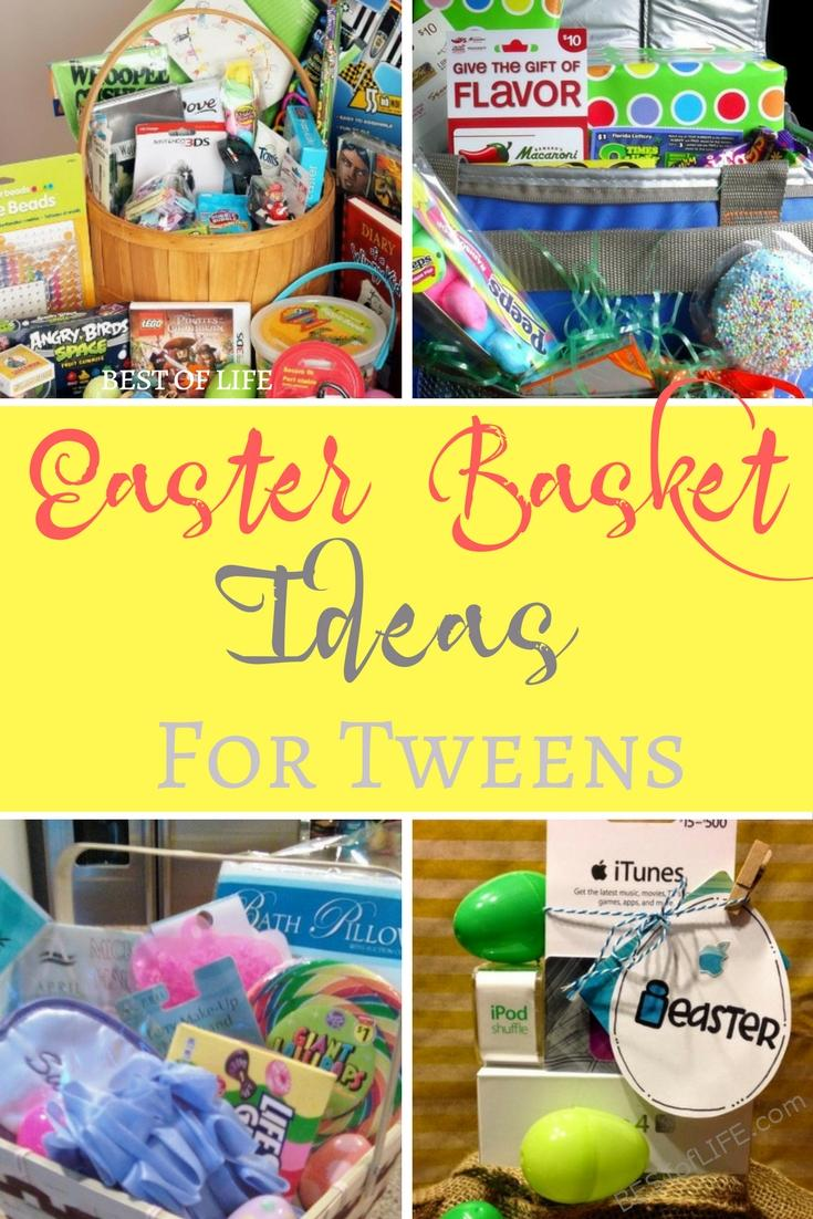 Easter basket ideas for tweens and teens the best of life easter basket ideas for tweens and teens do not have to break the bank all negle Gallery
