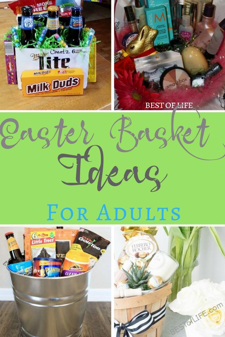 Easter Basket Ideas For Adults No Candy Couples And