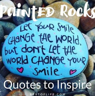 Making your own DIY painted rocks is easier when you have the best painted rock quotes to inspire others in the world. DIY Painted Rocks | Easy Painted Rocks Ideas | DIY Painted Rock Quotes | Painted Rock Ideas for Kids | Crafts for Kids