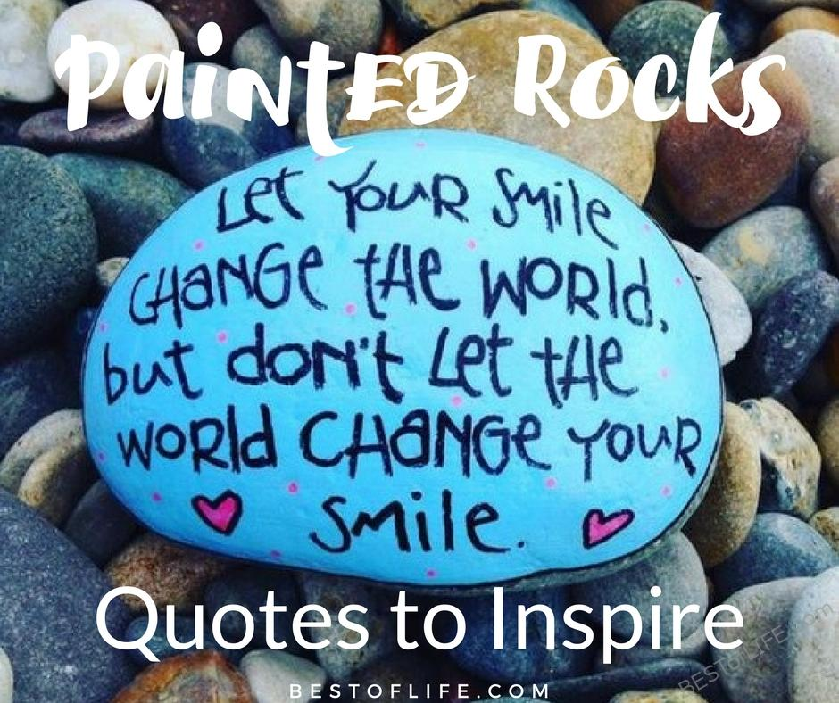 Painted rocks quotes and rock ideas to inspire the best for Simple decorating 50 ways to inspire your home