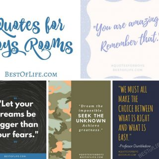 """Quotes for Boys are an awesome way of showing how much you care without being too """"mushy"""" or """"over the top"""". These are quotes that you can share with your boys for a special moment! Quotes for Boys 