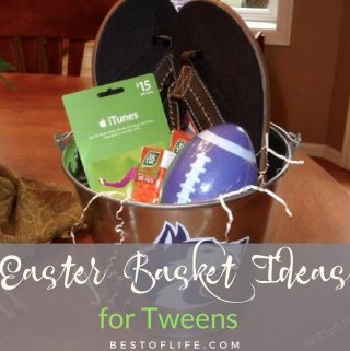 Easter basket ideas for tweens and teens do not have to break the bank, all you need are a few of their favorite treats. Easter Basket Ideas | Best Easter Basket Ideas | Cheap Easter Basket Ideas #easterbasketideas #easter #Holidays #HolidayIdeas