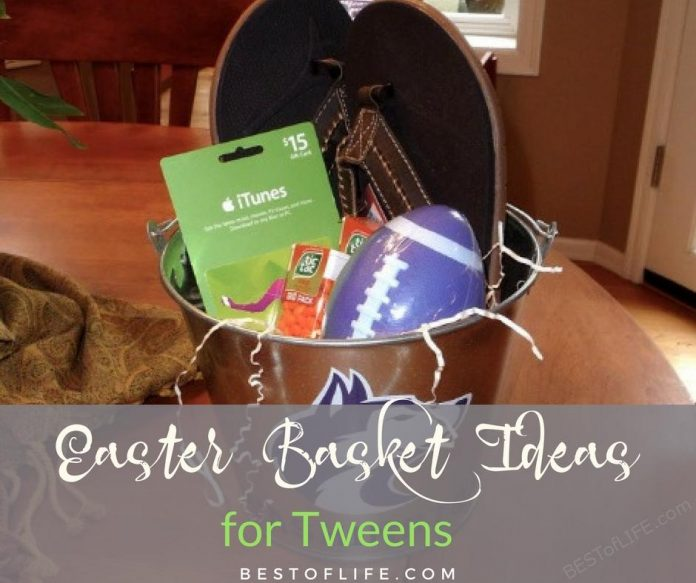 Easter basket ideas for tweens and teens do not have to break the bank, all you need are a few of their favorite treats. Easter Basket Ideas | Best Easter Basket Ideas | Cheap Easter Basket Ideas | Easter Baskets for Teens | Easter Baskets for Tweens