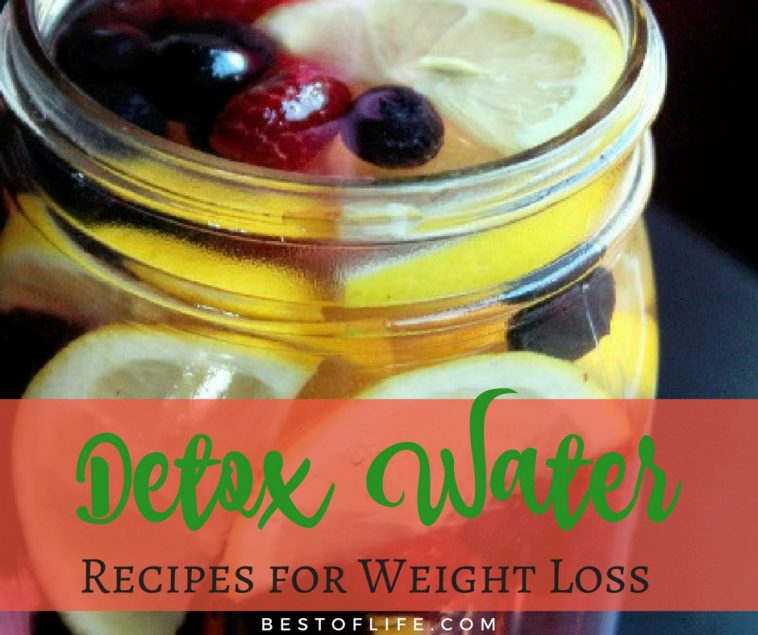 Find some easy detox water recipes that fit your tastes and make every sip of a drink a beneficial one for your weight loss.