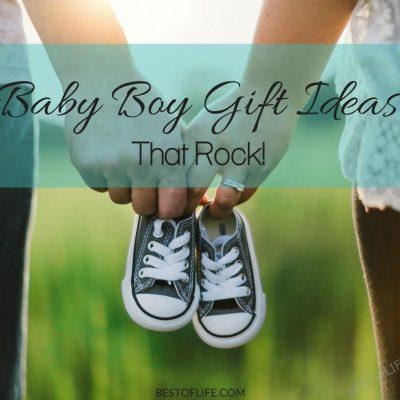 Baby Boy Gift Ideas that Rock