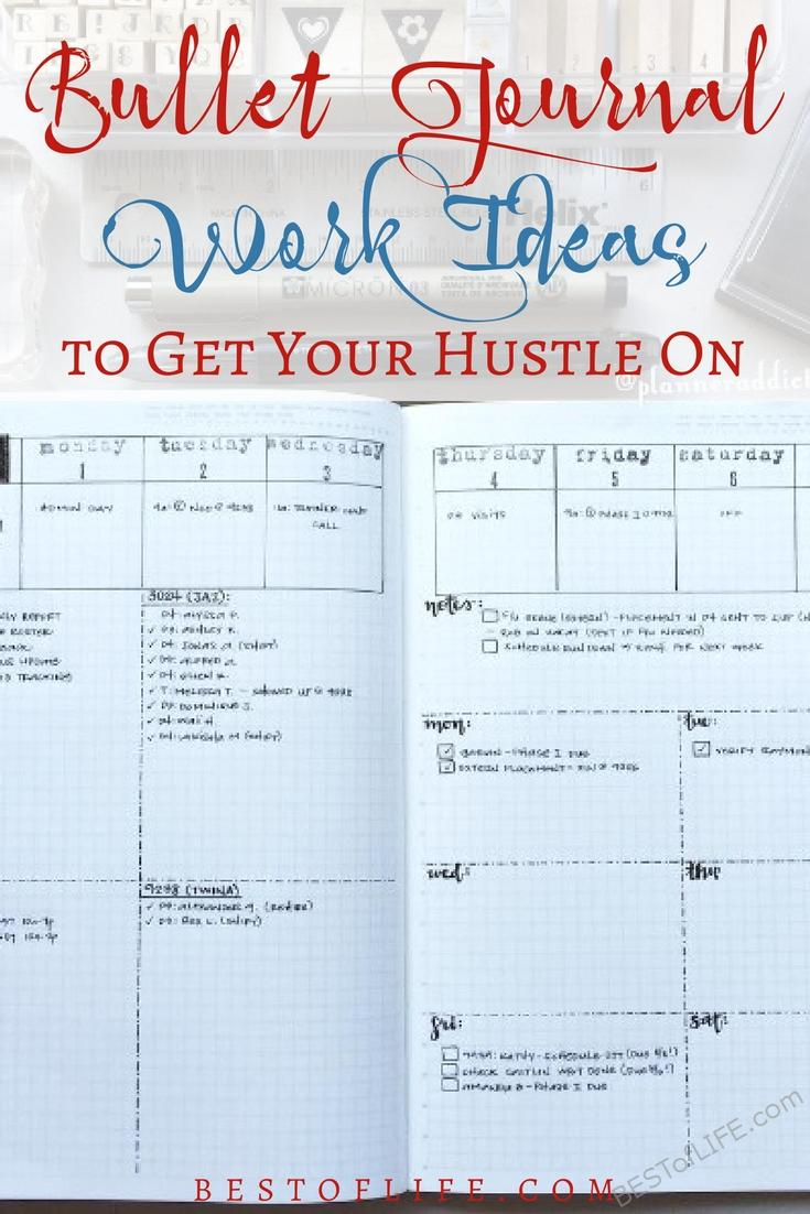 Bullet journal work ideas keep my other work organized and that makes bullet journaling almost mandatory for me and my busy lifestyle.