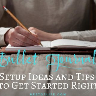 Find the best way to complete your bullet journal setup today and get your life organized in ways you never imagined could be done before. BuJo Ideas | Bullet Journal Tips | How to Get Organized | How to Start Bullet Journaling | Start a BuJo | Journal Tips