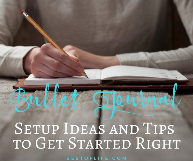 Find the best way to complete your bullet journal setup today and get your life organized in ways you never imagined could be done before.