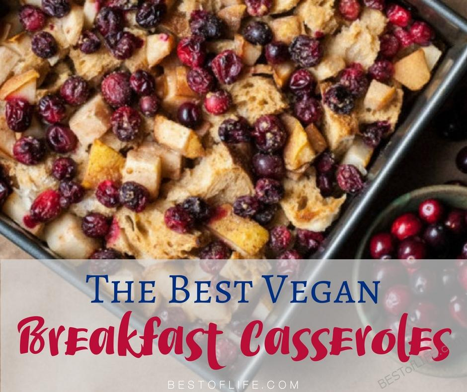 Starting your day with the best vegan breakfast casserole recipes will give you energy for your day and leave you waiting for seconds. Easy Vegan Breakfast Casseroles | Healthy Vegan Breakfast Casserole | Best Vegan Breakfasts | Best Vegan Breakfast Casseroles | Vegan Breakfast Casserole Recipes