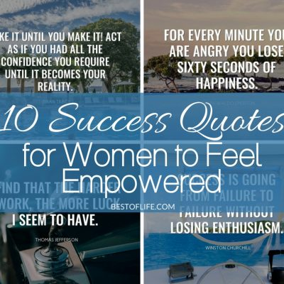 10 Success Quotes for Women | Empowering Quotes