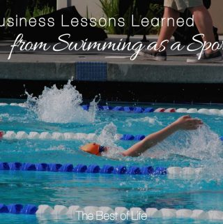 There are many business lessons learned from swimming as a sport. It's not for the faint of heart, but neither is being an entrepreneur. Life Lessons | Swimming as a Sport | Business Tips | Entrepreneur Tips Men | Entrepreneur Tips Women | Parenting Tips
