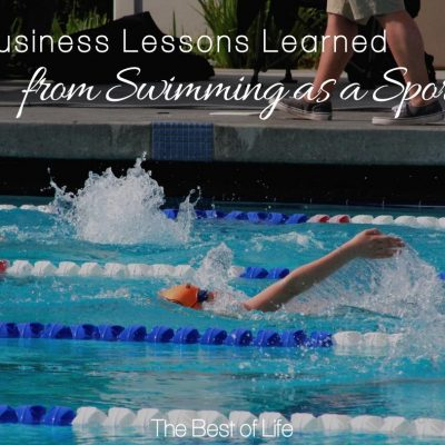 Business Lessons Learned from Swimming