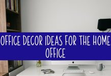 When looking for office decor ideas for your home office you have to incorporate your own style combined with functionality!