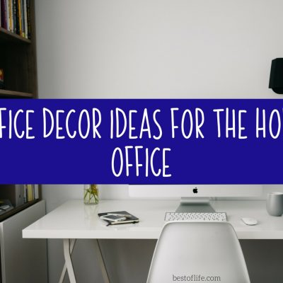 Office Decor Ideas for your Home Office