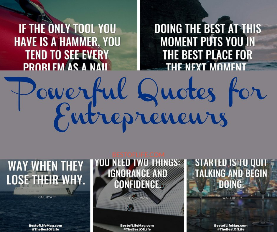 20 Powerfully Inspiring Quotes For Tough Times: Powerful Quotes For Entrepreneurs