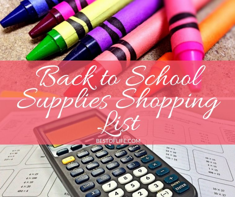 Gathering all the necessary back to school supplies can be difficult when you have multiple kids...or a job...or anything else going on!