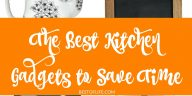 The best kitchen gadgets to save time are both useful, appealing, and handy. You can get so much more accomplished if you have the right tools!