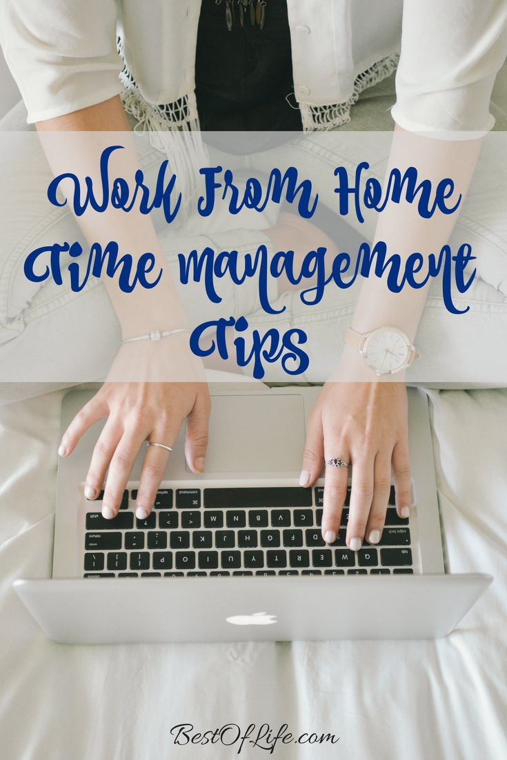 A work from home job can mean lots of distractions. You have to have a good grasp on these time management tips in order to be successful! Organization Tips | Organization Hacks | Time Management Hacks | Work from Home Tips | How to Manage Time via @thebestoflife